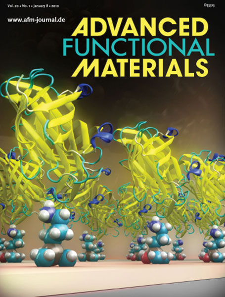 Advanced Functional Materials cover January 2010