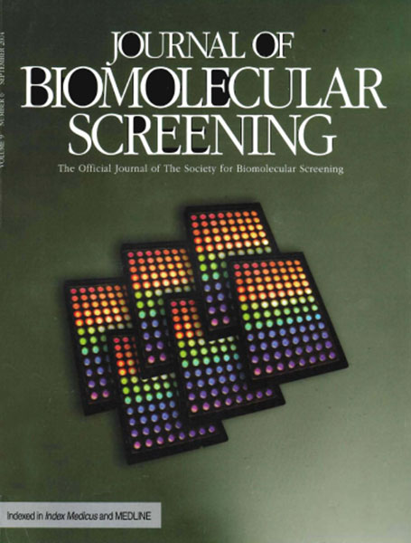Journal of Biomolecular Screening cover