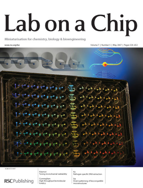 Lab on a Chip cover May 2007