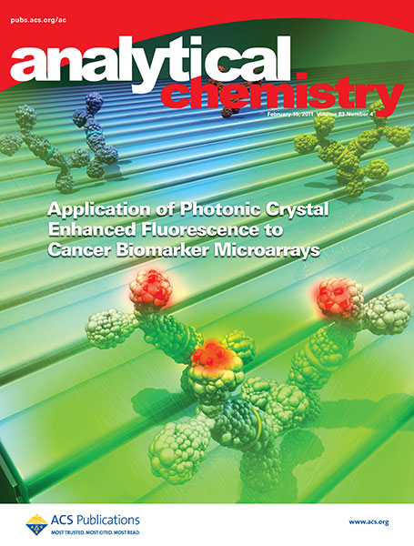 Analytical Chemistry cover 2011