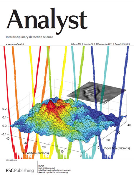 Analyst cover September 2011