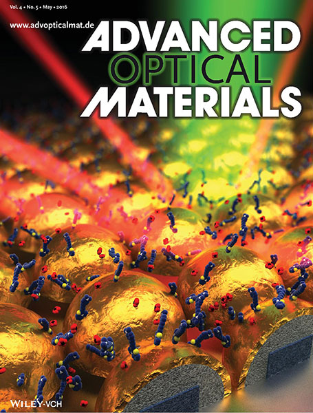 Advanced Optical Materials cover May 2016